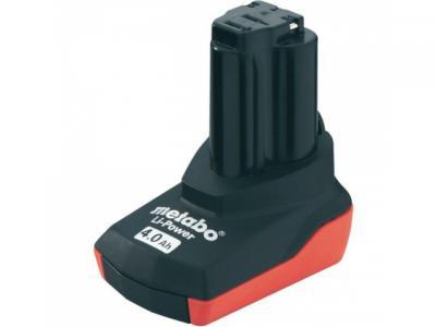 Аккумулятор Metabo 10.8В 4.0Ач li-ion (625585000) vertical camera 7 2v li ion battery grip for nikon d5100 d5200 black