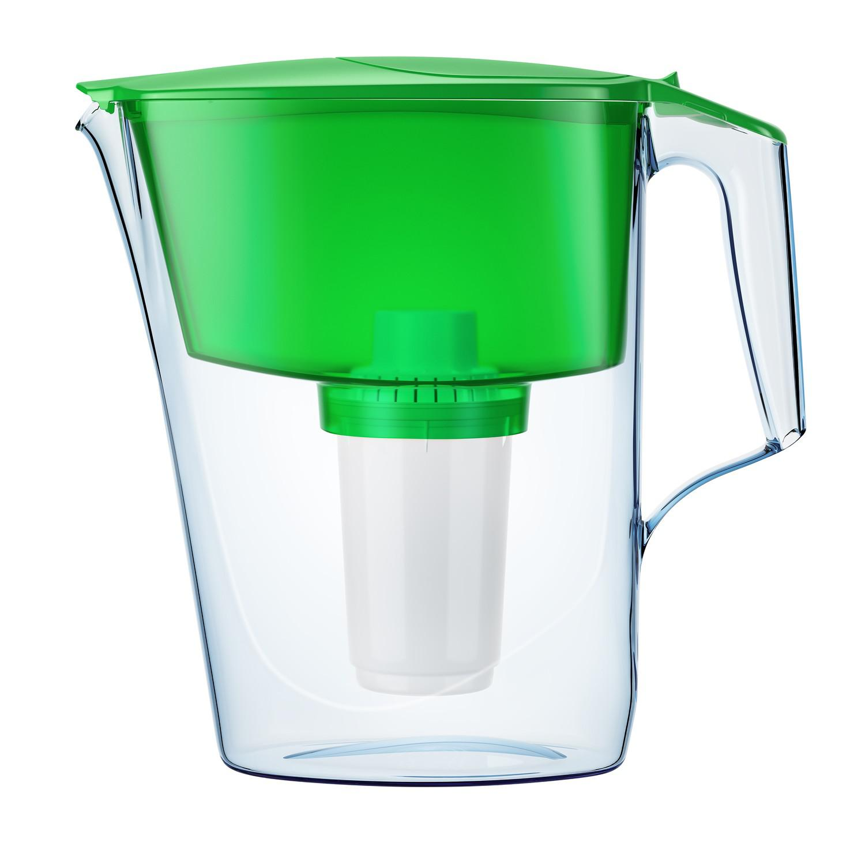 Фильтр-кувшин АКВАФОР Ультра, зеленый фильтр для воды аквафор кувшин престиж красный