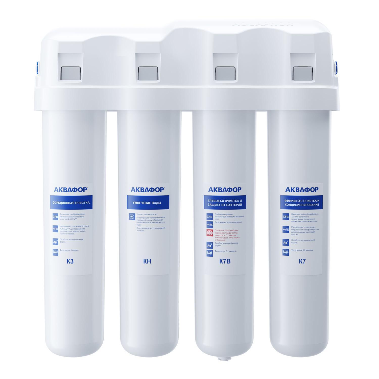 Фильтр для очистки воды АКВАФОР Кристалл ЭКО Н (мод А) стационарная система аквафор кристалл эко
