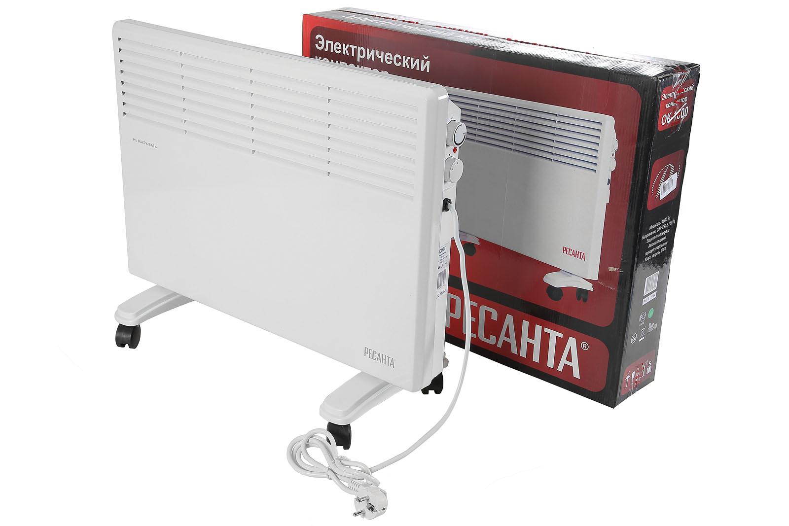Конвектор электрический напольный РЕСАНТА ОК-1600 от 220 Вольт