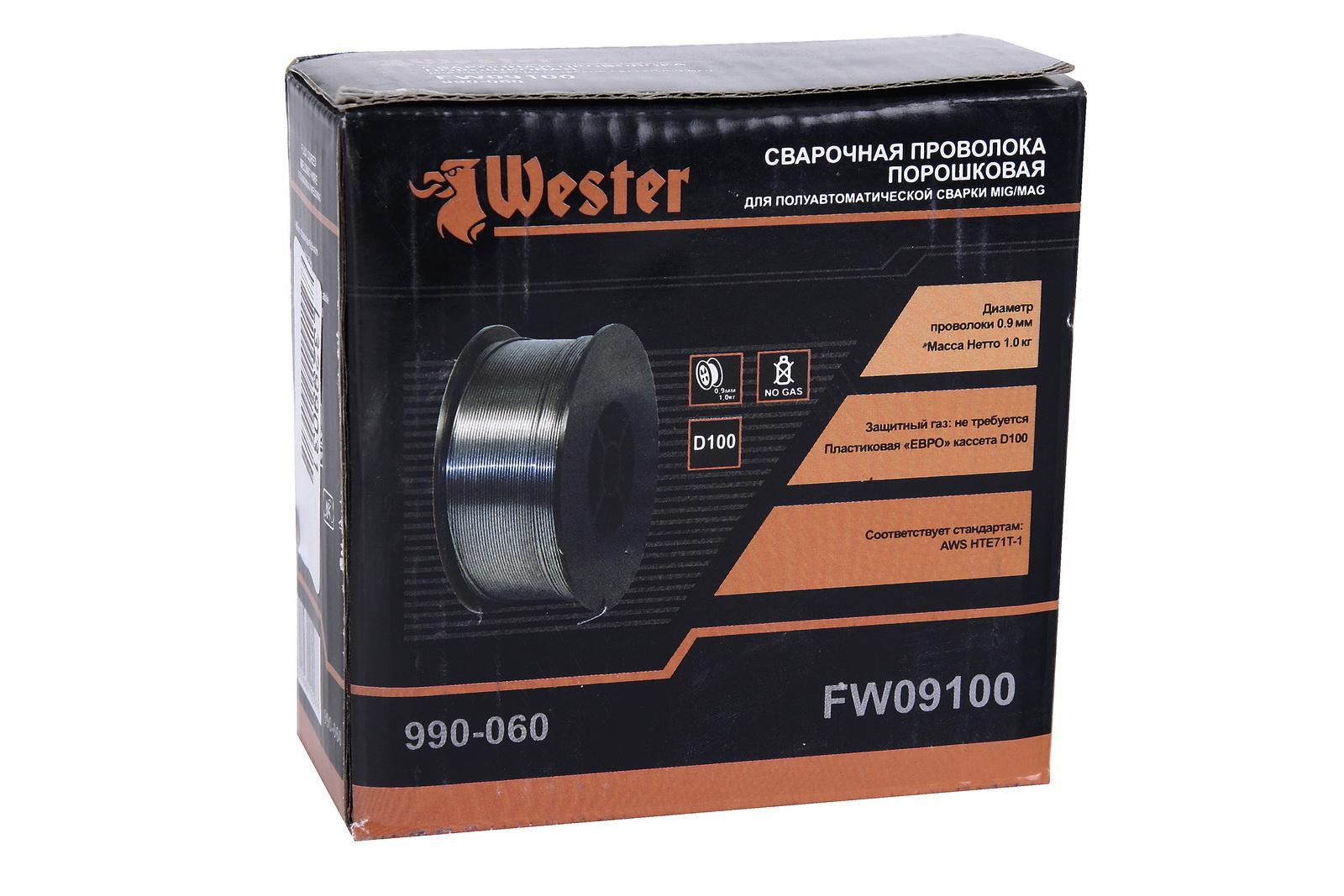 Проволока сварочная Wester Fw09100 от 220 Вольт
