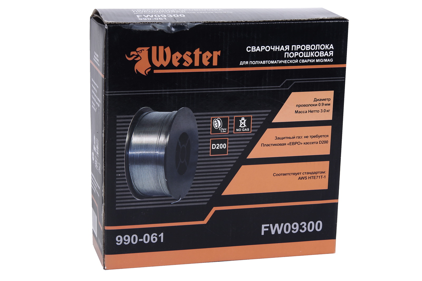 Проволока сварочная Wester Fw09300 от 220 Вольт