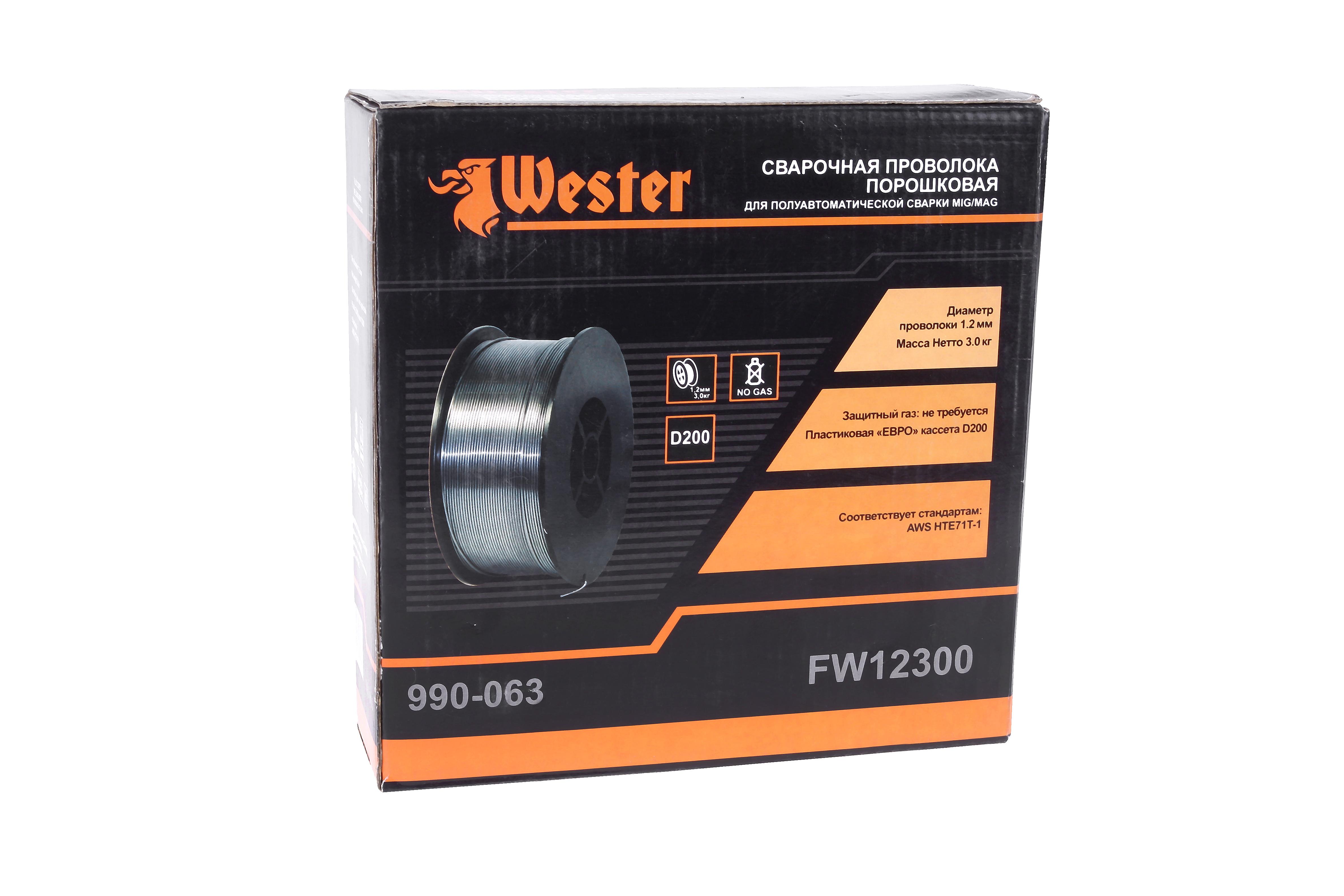 Проволока сварочная Wester Fw12300 от 220 Вольт