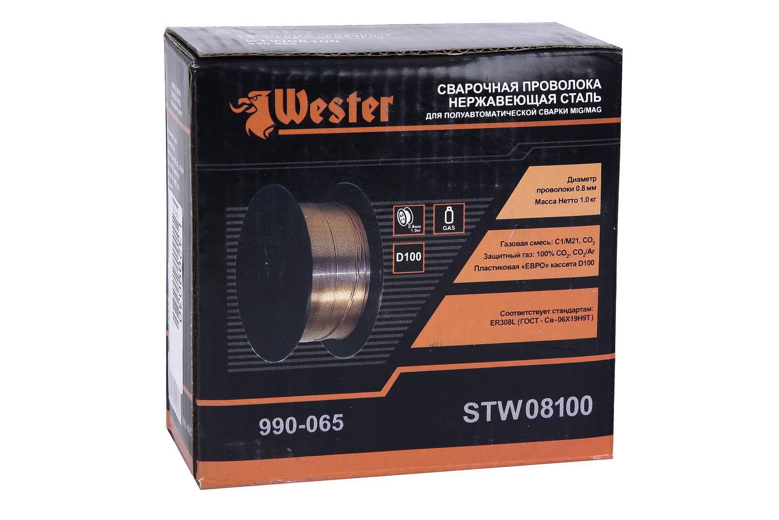 Проволока сварочная Wester Stw08100 от 220 Вольт