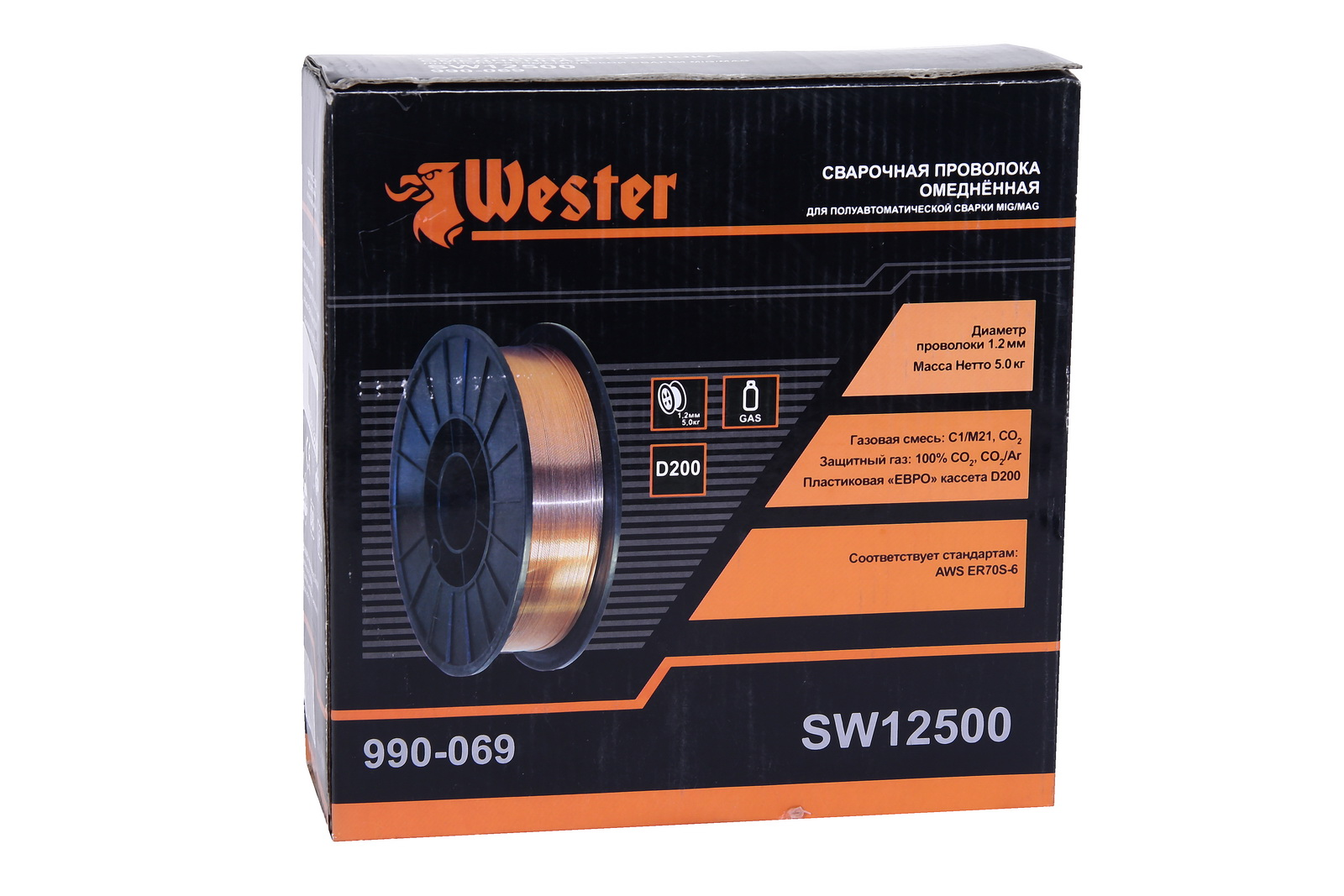 Проволока сварочная Wester Sw12500 от 220 Вольт