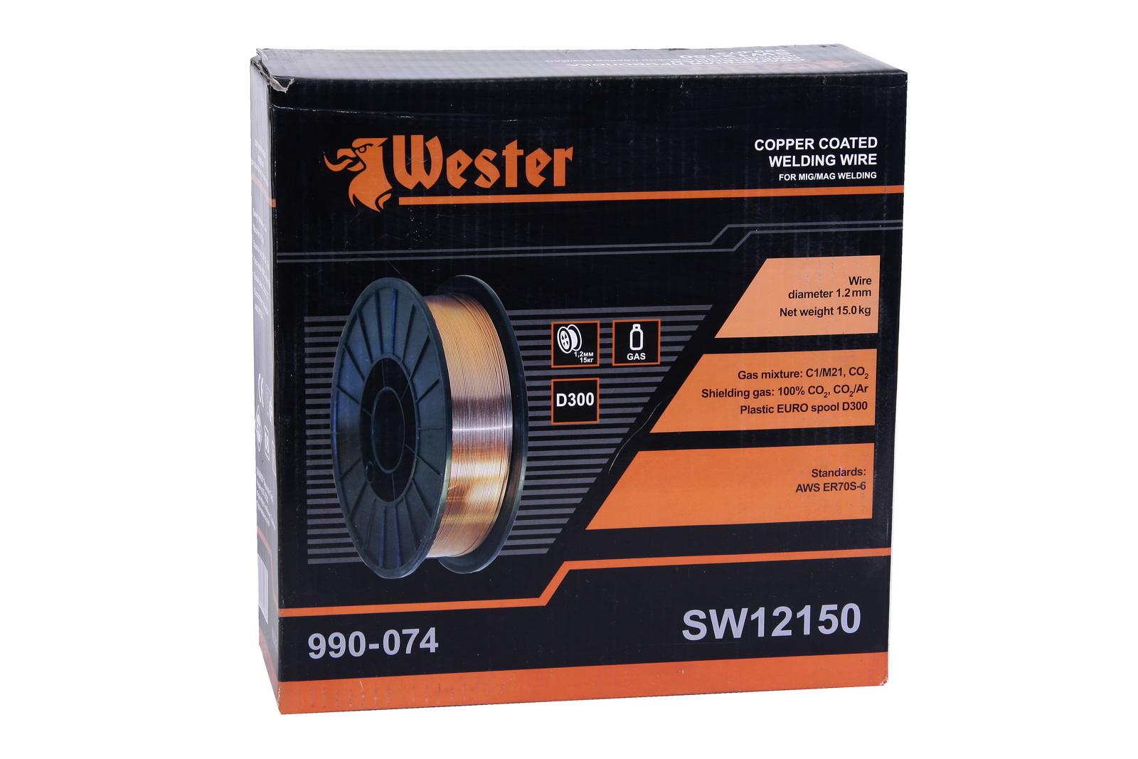 Проволока сварочная Wester Sw12150 от 220 Вольт