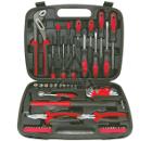 Набор инструментов в чемодане, 57 предметов FIT 65147