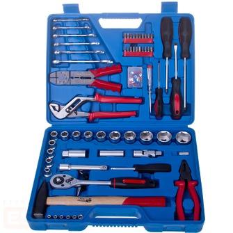 Набор инструментов в чемодане, 99 предметов Fit 65219 amico набор инструментов в чемодане