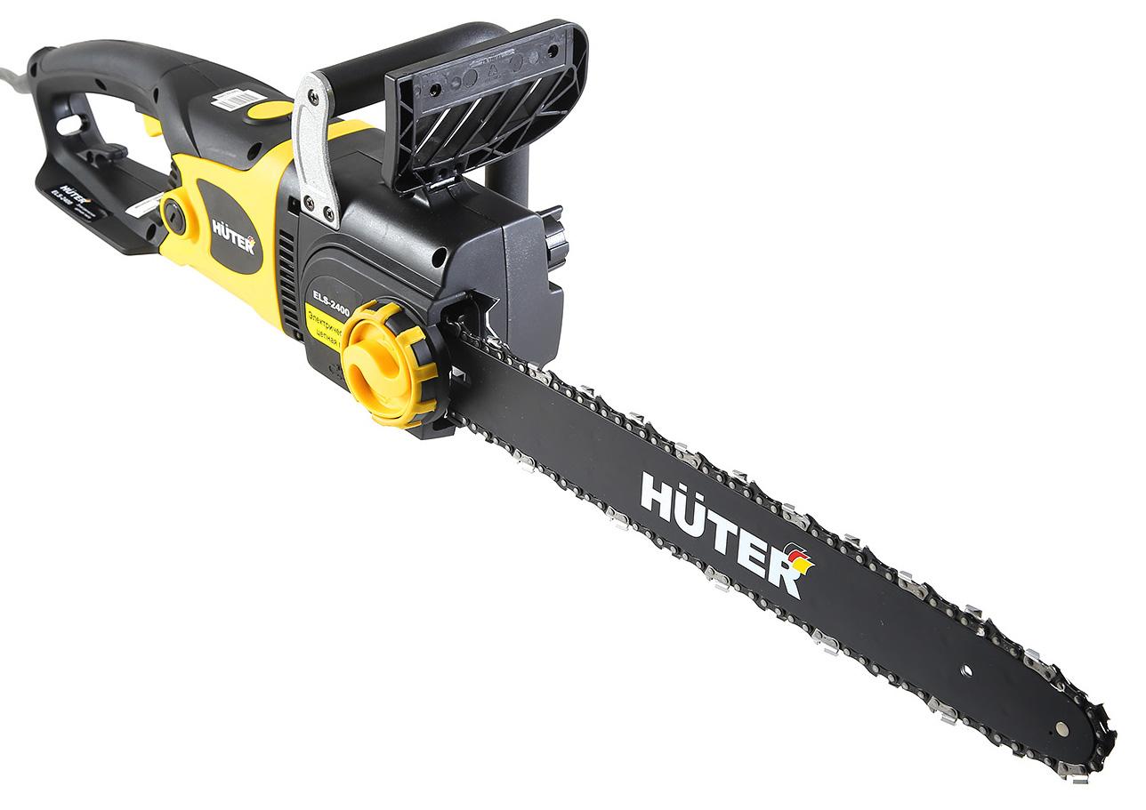 Пила цепная Huter Els-2400 цепная пила huter els 2000p 2000вт