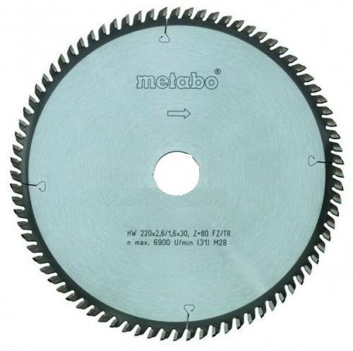 Диск пильный твердосплавный Metabo 305 x 80 x 30 (628055000)