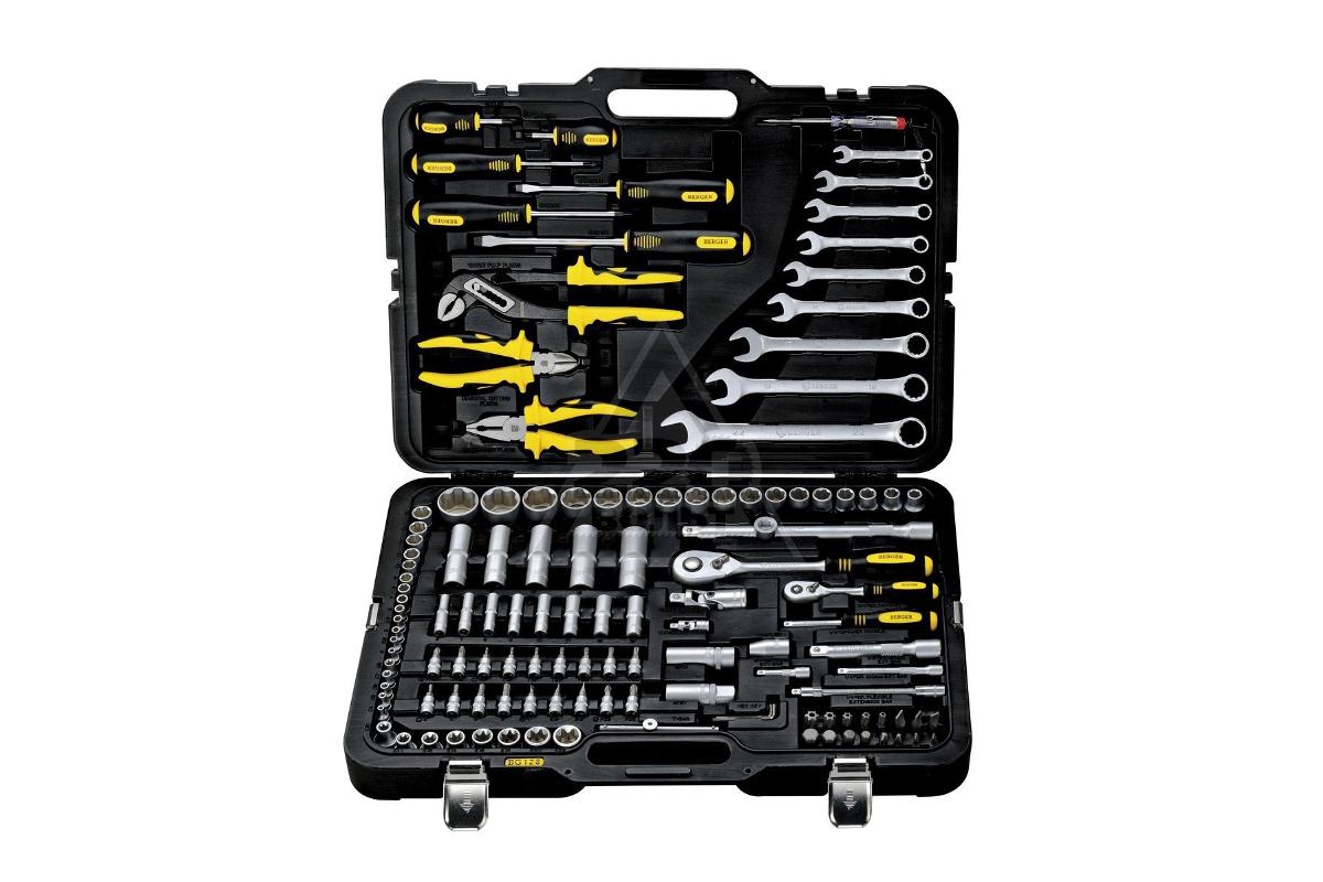 9a801c2798ea Профессиональный набор инструментов, 128 предметов Berger BG128-1214 ...