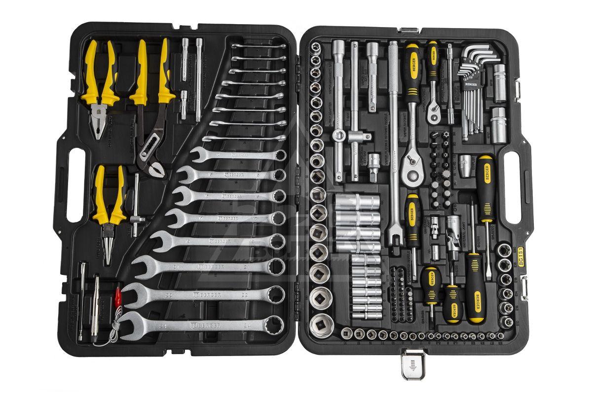 Набор инструментов BERGER BG151-1214151