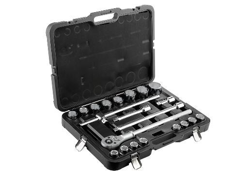 Набор инструментов в кейсе BERGER BG021-34 21 предмет для грузовиков
