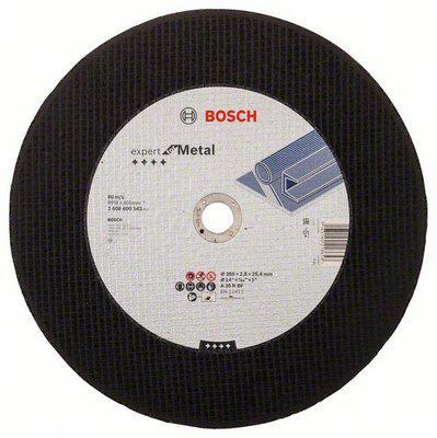 Круг отрезной Bosch 350х2.8х25.4 expert for metal (2.608.600.543) круг отрезной bosch expert for metal 230x1 9x22 2 608 603 400