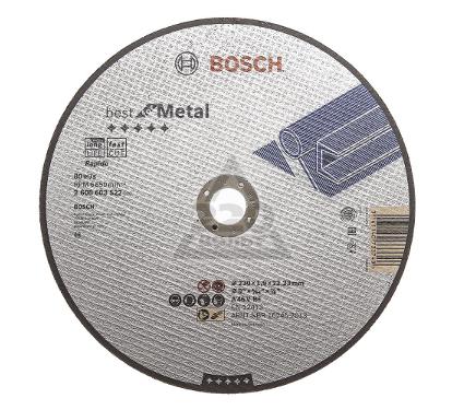 Круг отрезной BOSCH Best for Metal 230x1,9x22 (2.608.603.522)