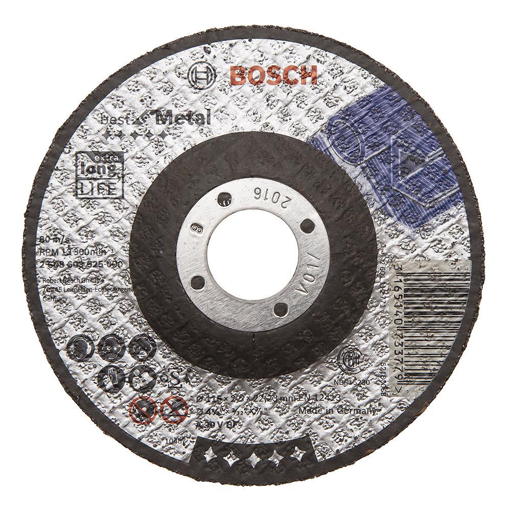 Круг отрезной Bosch 115х2.5х22 best for metal (2.608.603.525) круг отрезной bosch 115х1 5х22 best for metal 2 608 603 517