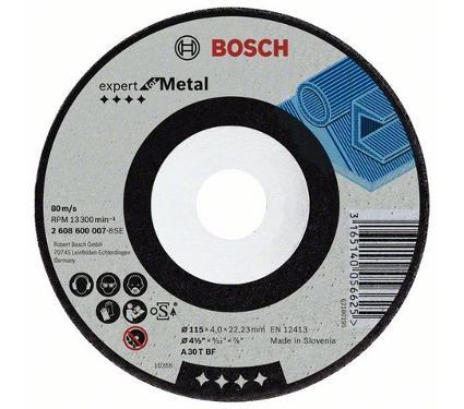 Круг зачистной BOSCH 115х4.8х22мм 14А (2608600537)