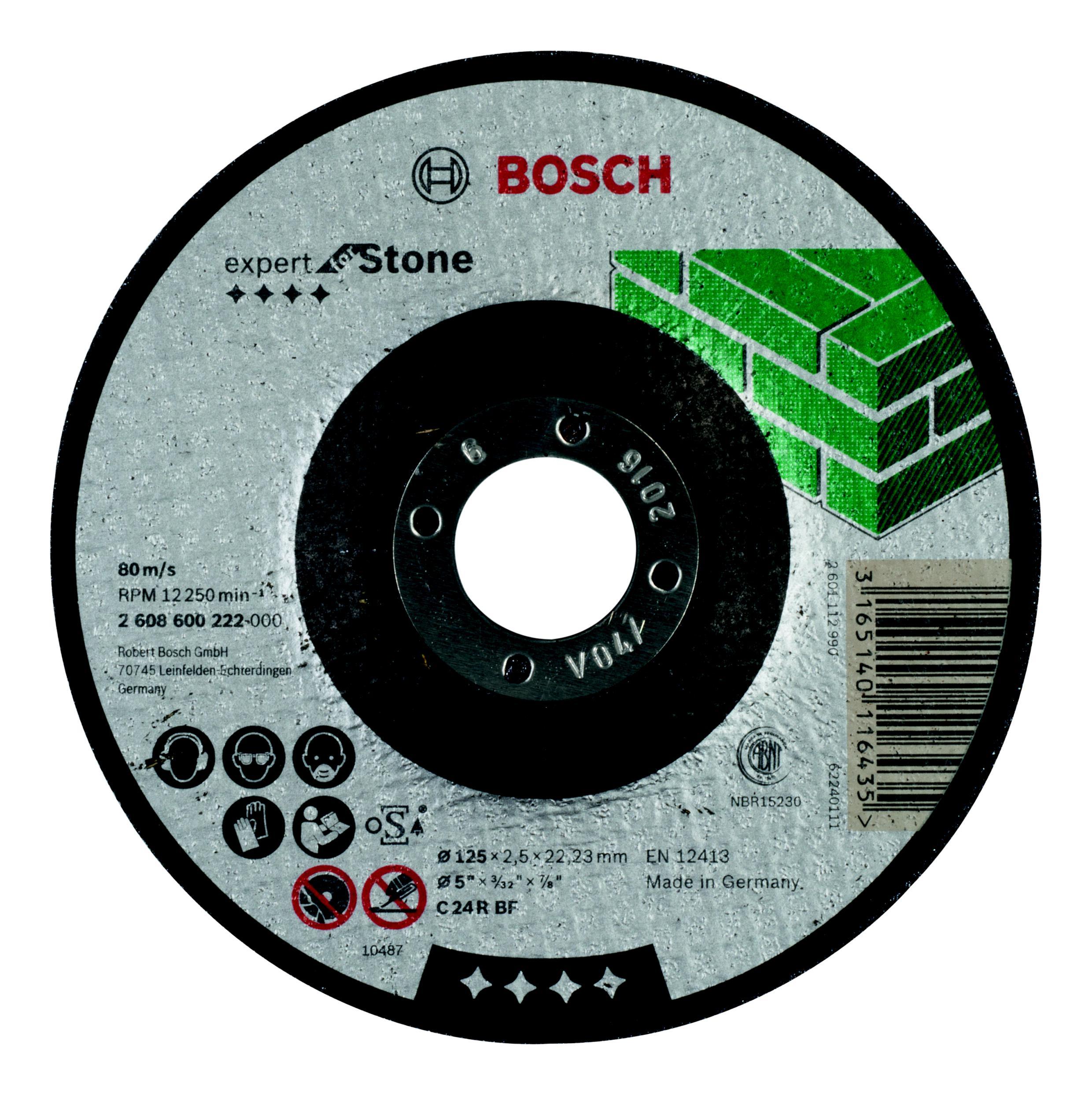 Круг отрезной Bosch 180х3х22 expert for stone (2.608.600.317) круг отрезной bosch bosch 3 in 1 115x2 5x22 по нерж 2 608 602 388