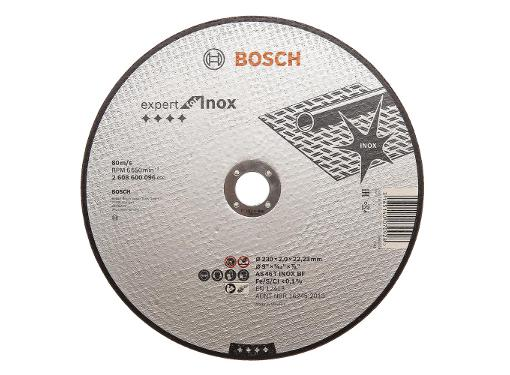 Круг отрезной BOSCH 230х2х22 Expert for Inox (2608600096)