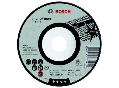 Круг зачистной BOSCH 125х6х22мм 14А (2608602488)