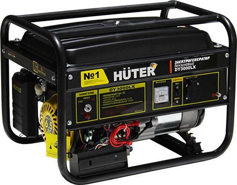 цена на Бензиновый генератор Huter Dy3000lx