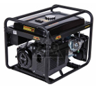 Комбинированный генератор HUTER DY6500LX, с колесами и аккумулятором