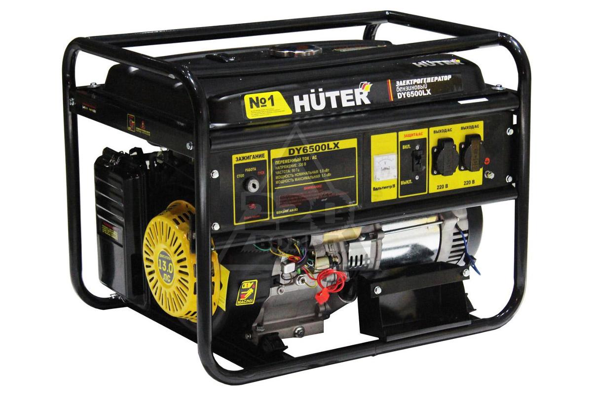 Генератор бензиновый huter dy6500l 5 квт стабилизаторы напряжения однофазные в розетку