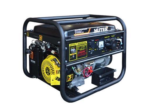 Газобензиновый генератор HUTER DY6500LXA