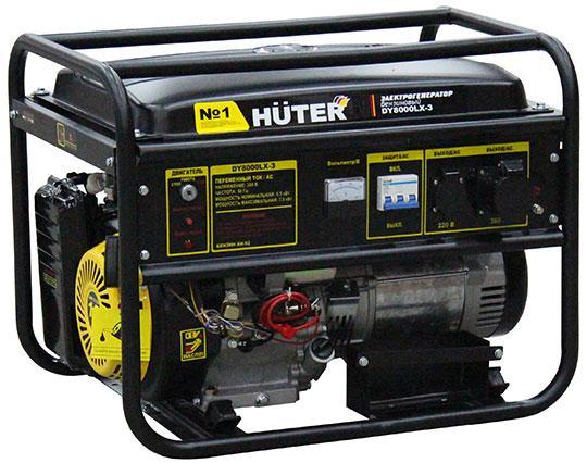 Бензиновый генератор Huter Dy8000lx-3 все цены