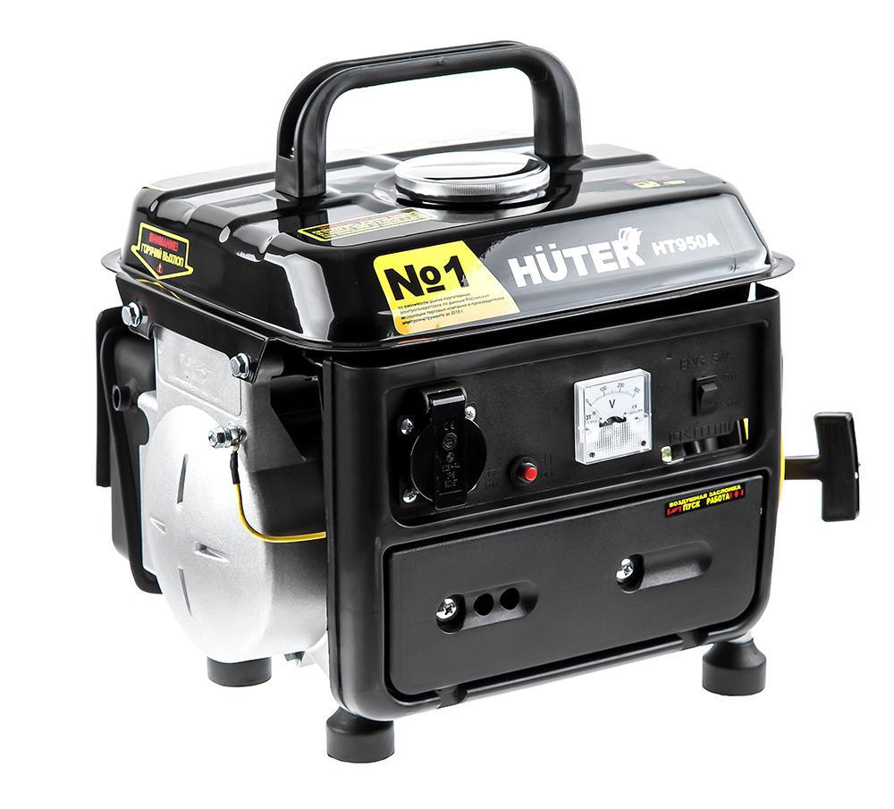 Генератор бензиновый Huter Ht950a генератор бензиновый сварочный genholm ht 6800 lxw