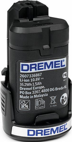 Аккумулятор Dremel 875 10.8В 1.5Ач батарея аккумуляторная для гравера dremel 875