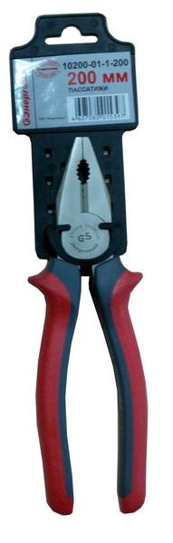 Плоскогубцы ЭНЕРГОМАШ 10200-01-1-200 бокорезы диэлектрические энергомаш 10200 01 3 160