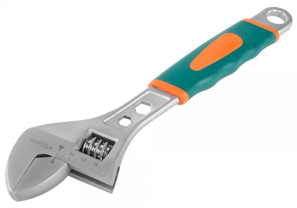 Ключ гаечный разводной Sturm! 1045-02-a300 (0 - 30 мм) набор инструмента sturm 1045 01 ss6