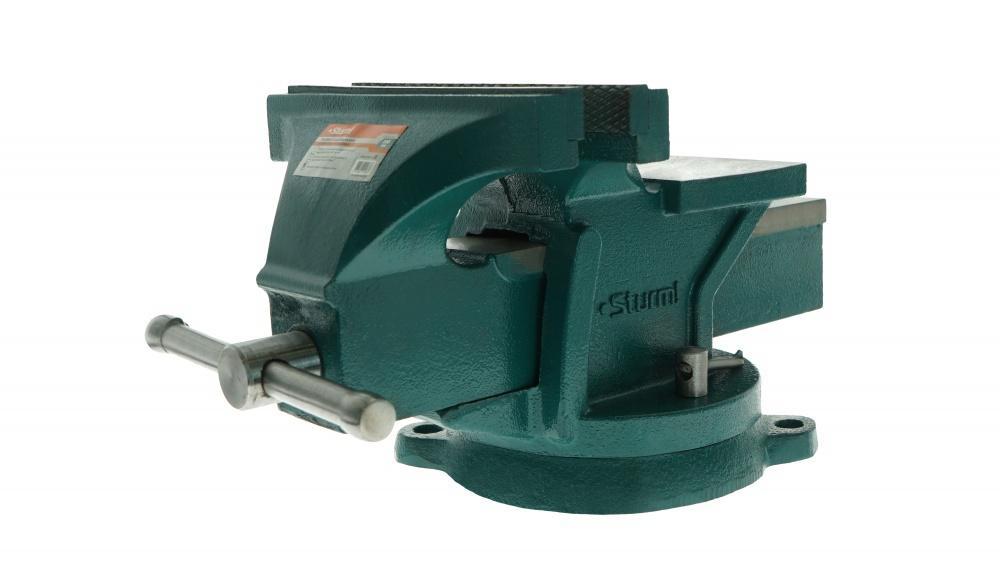 Тиски слесарные Sturm! 1075-01-200 слесарные тиски sturm 1075 04 140