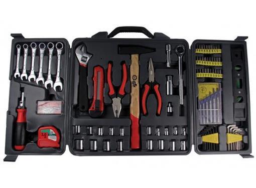 Набор инструментов в чемодане, 173 предмета STURM! 1310-01-TS3