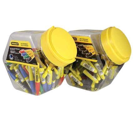 Набор маркеров STANLEY MINI 1-47-329 разноцветные