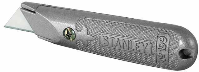 Нож строительный Stanley 199 grey 2-10-199 1 400 jinair 777 200er hogan korea kim aircraft model