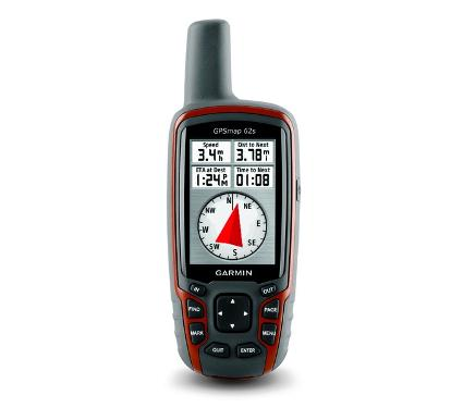 Туристический навигатор GARMIN GPSMAP 62S Russia