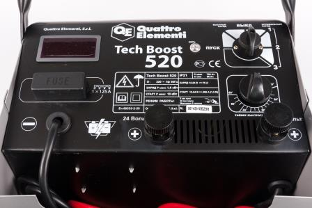 Устройство пуско-зарядное Quattro elementi 771-466 tech boost 520 от 220 Вольт