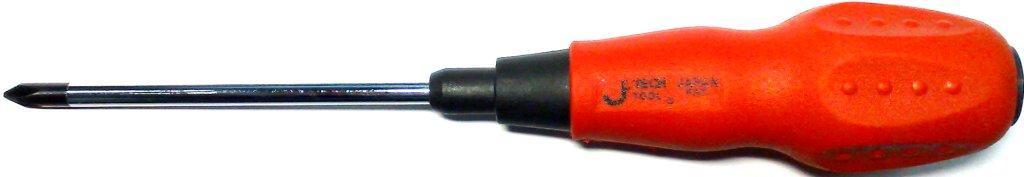 Отвертка крестовая Jetech St6-25mm #2 заклепочник усиленный jetech hr101