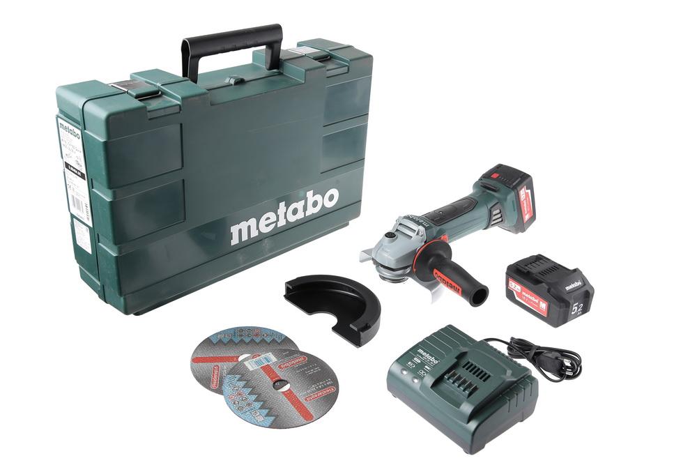 УШМ (болгарка) Metabo W 18 ltx 150 (600404650)