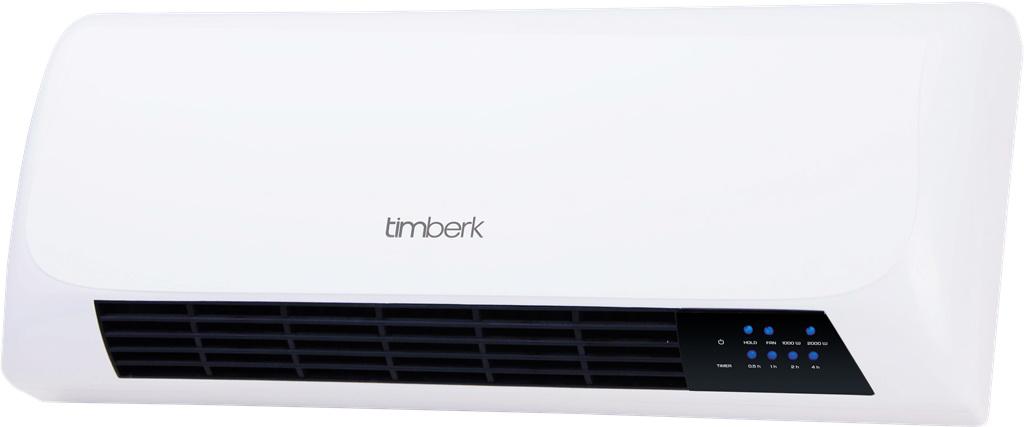 Керамический настенный тепловентилятор Timberk Tfh w200.xs