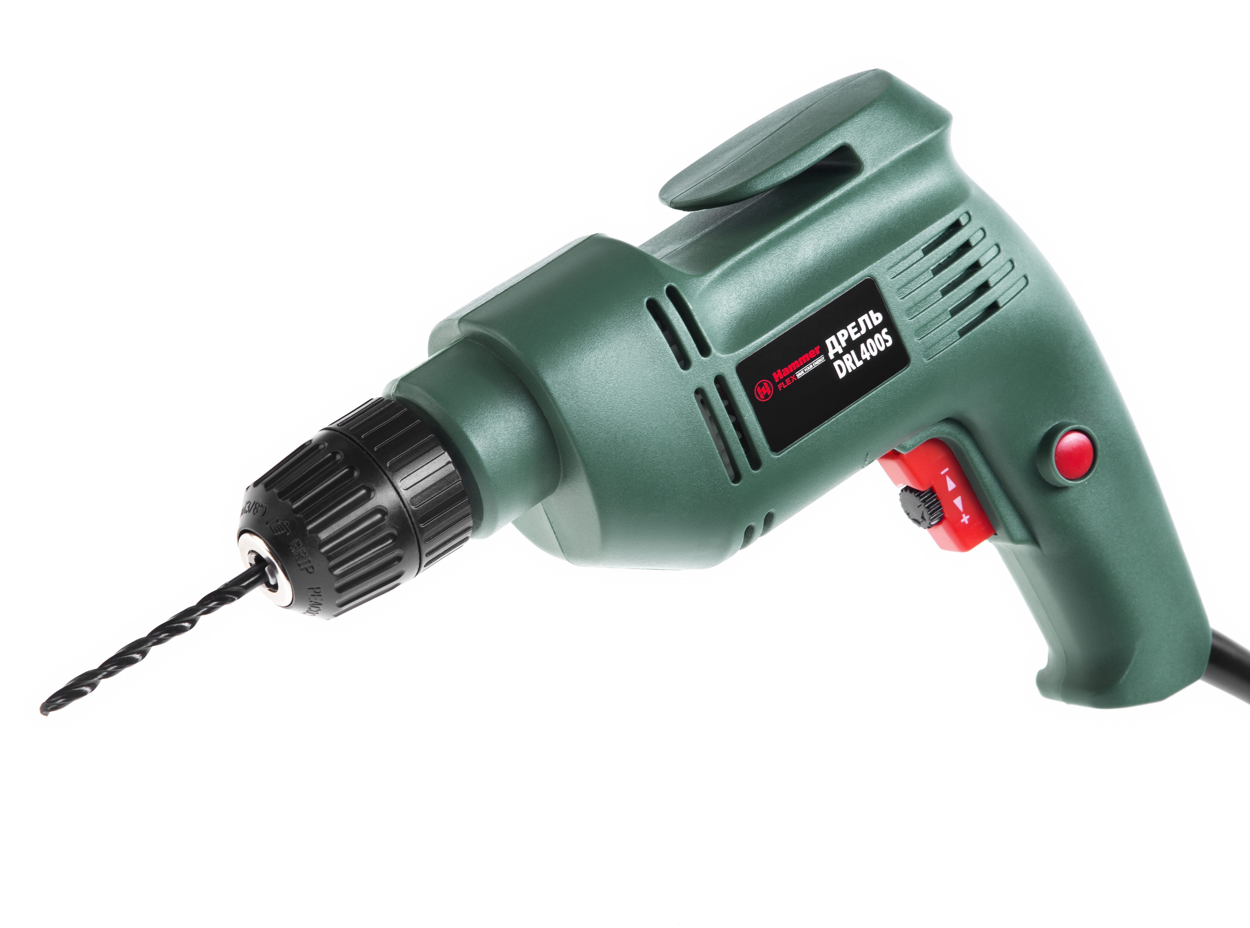 Дрель Hammer Flex drl400s дрель hammer flex drl400