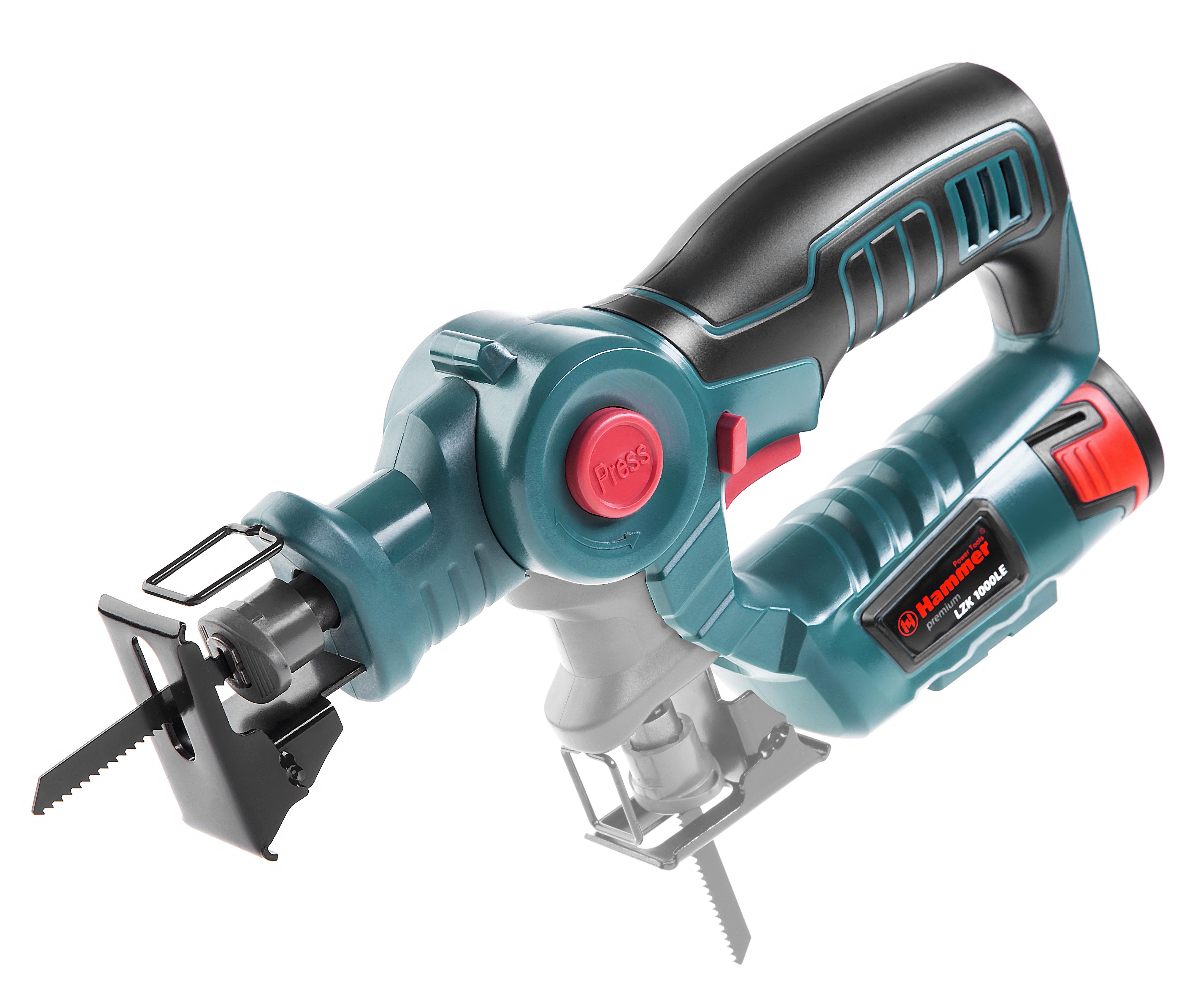 Аккумуляторный лобзик Hammer Lzk1000le premium