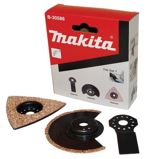 Набор насадок для МФИ Makita по плитке, 3 предмета replacement bare lamp bulb 5j 07e01 001 for benq mp771 projectors