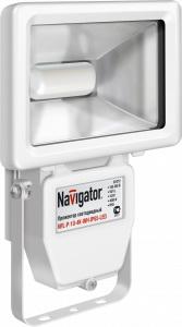 Прожектор светодиодный Navigator 94 627 nfl-p-10-4k-wh-ip65-led люстра navigator 94 608 nfl sh1 150 r7s wh