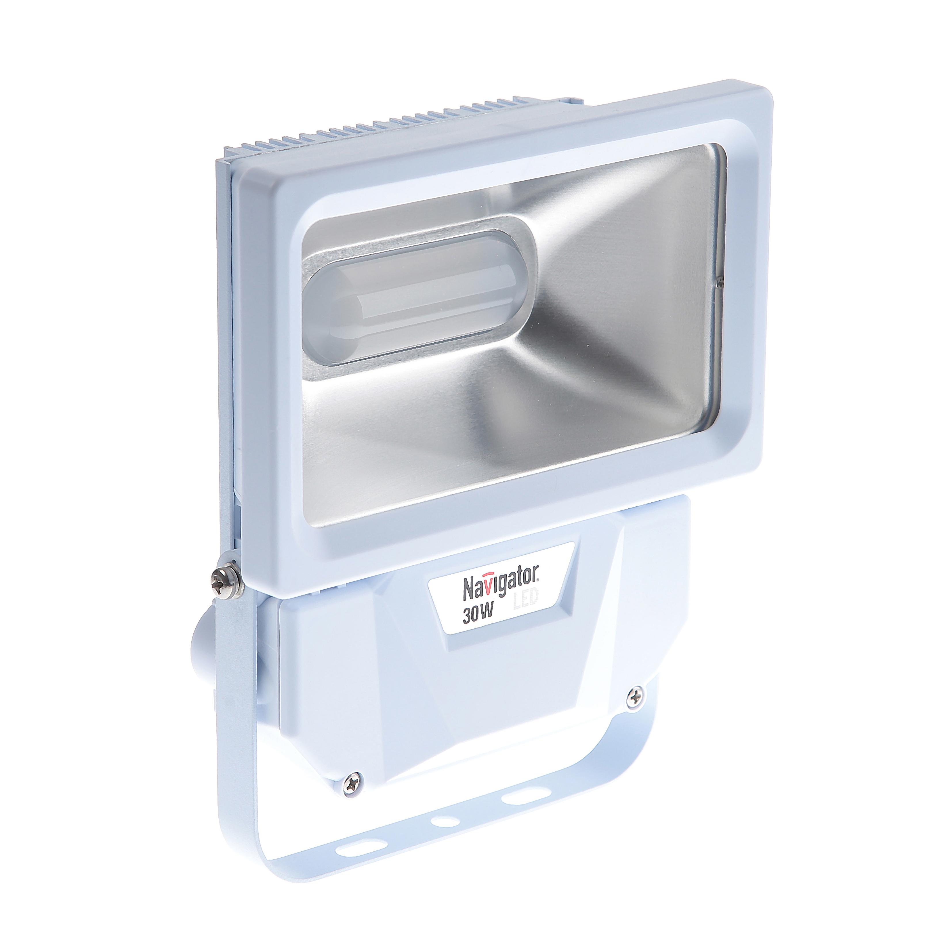 цены Светодиодный прожектор Navigator 94 629 nfl-p-30-4k-wh-ip65-led