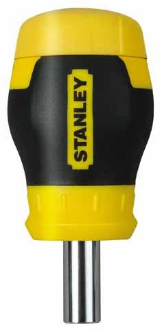 Отвертка с битами Stanley Stubby multibit 0-66-357  - Купить