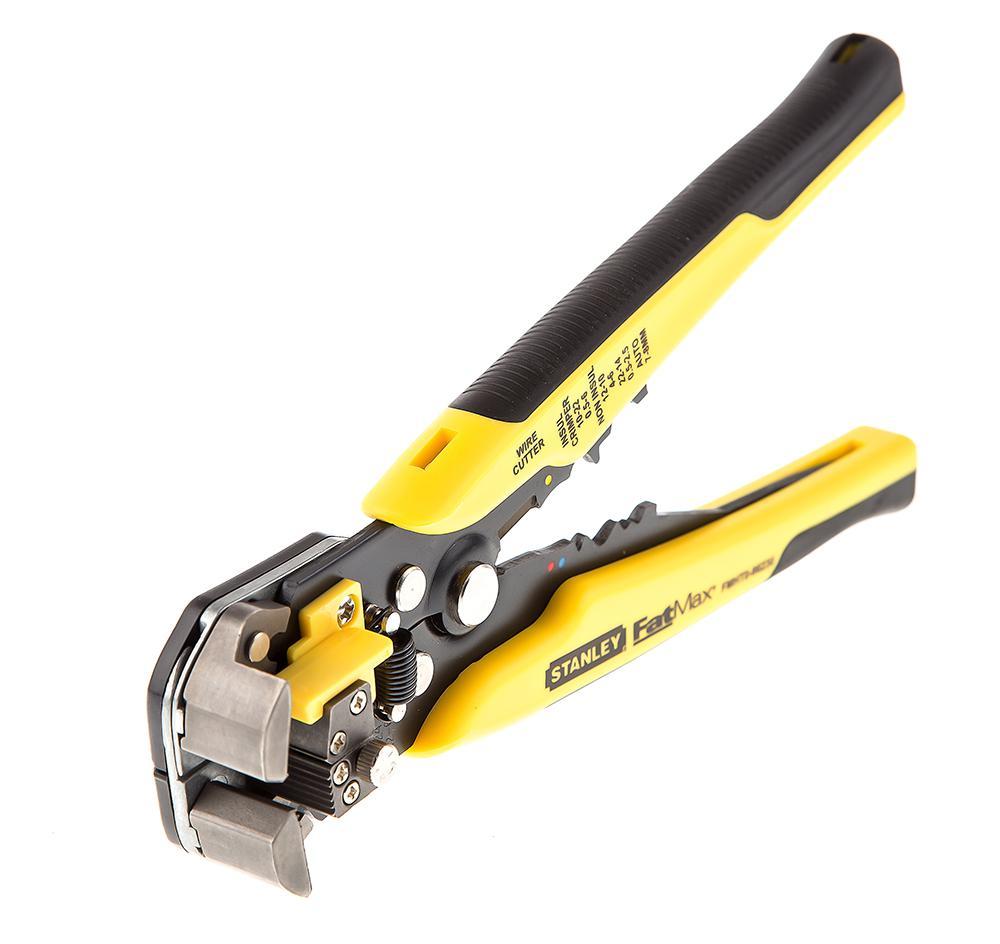 Щипцы для зачистки электропроводов Stanley Fatmax fmht0-96230 кусачки для кабеля stanley fatmax 21 5 см