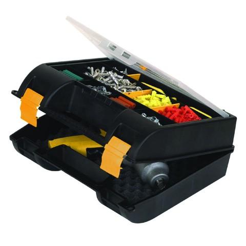 Фото - Ящик для электроинструмента пластиковый Stanley 1-92-734 коробка рыжий кот 33х20х13см 8 5л д хранения обуви пластик с крышкой